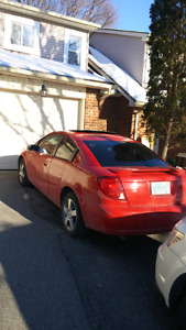 2006 saturn ion 3 low km for trade