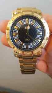 JBW 562 Gold and Diamond Watch