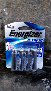 "Best Price on Energizer ""Ultimate Lithium"" AA Batteries (8)"