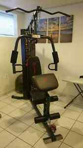 Moving must sell Marcy 150 lb stack Home Gym