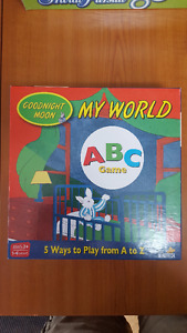Goodnight Moon My World Board Game