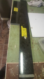 BLACK GRANITE  ( back splash pieces)