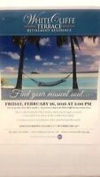 ESCAPE THE WINTER BLUES DINNER AND ENTERTAINMENT