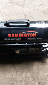 Remington 70,000 BTU heater, diesel/Kerosene