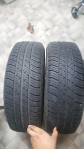2 summer tires MICHELIN with MAGS  35$