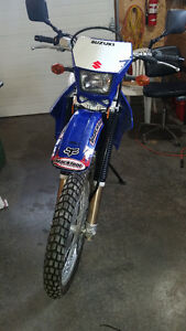 WANTED NEW PLASTIC FOR DR400S BLUE AND ANY AFTERMARKET PARTS