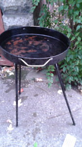 Charcoal BBQ including utensils