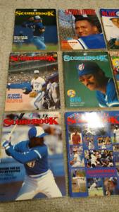 Toronto Blue Jays magazines (1986-1991)