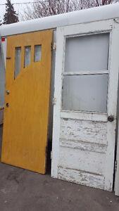 White Vintage door