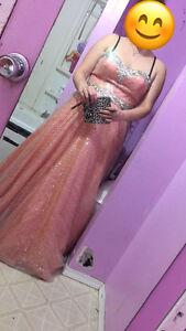 Coral Grad Dress
