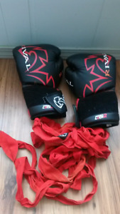 Rival evolution pro boxing gloves