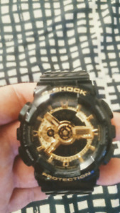 Montre G-Shock Black and Gold