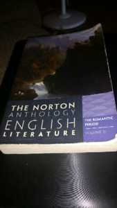 English literature and a witchcraft textbook