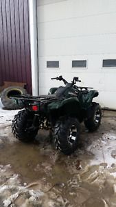Yamaha 700 grizzly with power steering and fuel injection