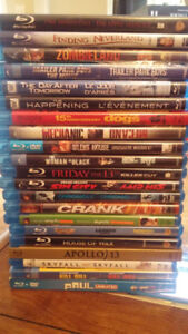 62 Blu-Ray Movies. Best offer