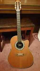 Ovation model 1763 classical guitar