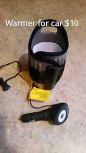 On the go bottle warmers