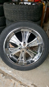 GMC Chevy 6 bolt rims 305/40/22