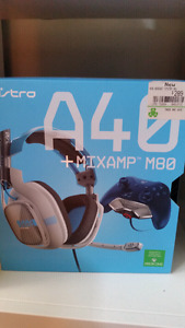 Astro A40 + Mixamp M80 Xbox one headset