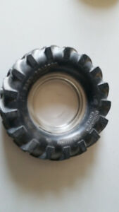 Vintage Dominion Royal Grip Master Tractor Tire Ashtray