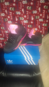 Ladies jordans and adidas