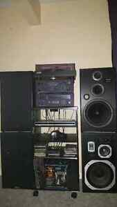 Stereo System and Speakers