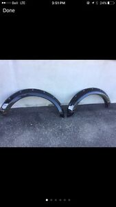 Flared fenders pour f150