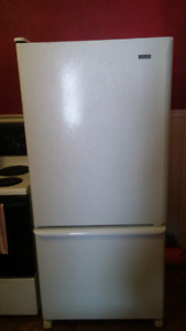 Kenmore fridge - scratch and dent special