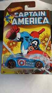 HOT WHEELS CAPTAIN AMERICA SIR OMINOUS