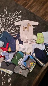 Boy infant clothes