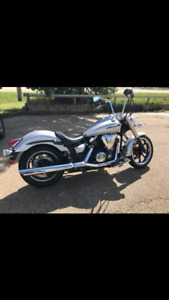 2012 Yamaha vstar 950 mint and low kms.  Will look at trades!