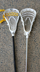 Lacrosse sticks x 2