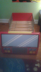 Awesome Firetruck Toddler Bed