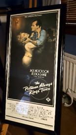 Original framed film poster/picture