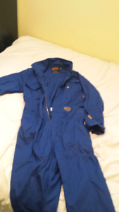 2 pairs of Pioneer FR rated coveralls size 42