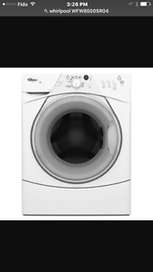 Whirlpool duet sports washer and dryer