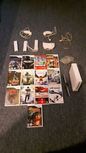 WII Console, Controllers and Games