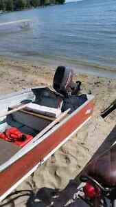 Mini Bike Outboard  Motor and Boat