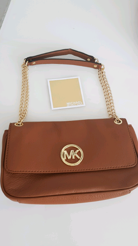 0a3905fc3194 Michael Kors brown leather bag - Genuine Item - Brand new without tags