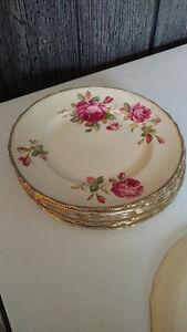Royal Swan dinner plates