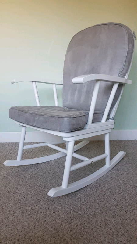 online retailer a1c75 08b90 Mothercare white rocking chair with cushion | in Corstorphine, Edinburgh |  Gumtree