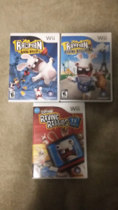Raving Rabbids games for Nintendo Wii