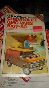 1967-1980 Chevrolet/GMC van service/repair manual Belleville Belleville Area image 1
