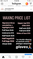 Waxing by certified esthetician +3 years experience AJAX