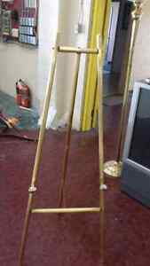 Brass easel like new.