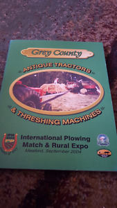GREY COUNTY ANTIQUE TRACTORS AND THRESHING MACHINES 2004 EXPO