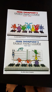 John Thompson's Easiest Piano Course - Part 1, 2 - NEW