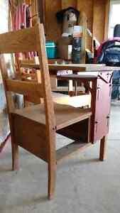 Antique refurbished school desk Kitchener / Waterloo Kitchener Area image 1