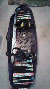 K2 Snow Board With Burton Custom Binds