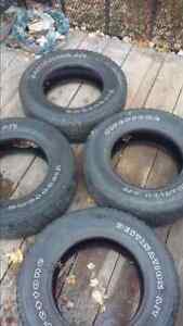 4 Used Tires $90 obo call or text 1506871-0716